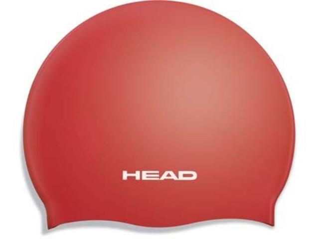 Head Silicone Flat Cap Barn red